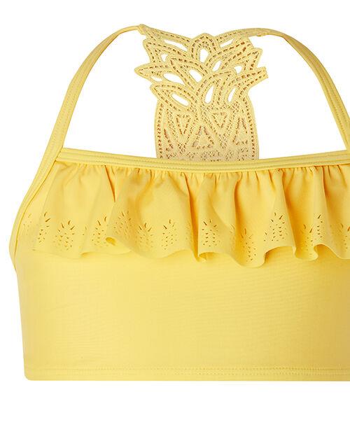 Pia Pineapple Bikini Set with Recycled Fabrics, Yellow (YELLOW), large