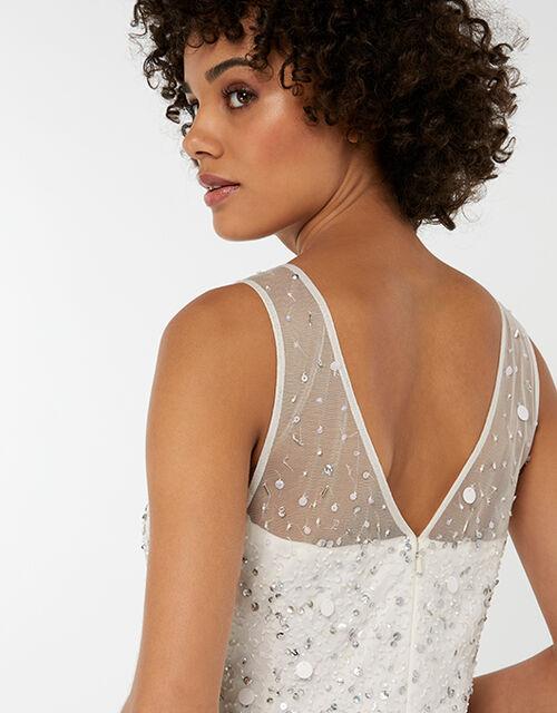 Victoria Embellished Maxi Wedding Dress, Ivory (IVORY), large