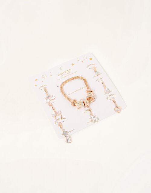 7-Day Charm Trinket Bracelet Set, , large