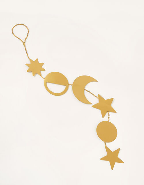 Star and Moon Metal Hanging Decoration, , large