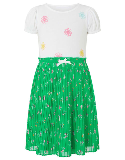 Grace Set in Organic Cotton and Recycled Fabric, Green (GREEN), large