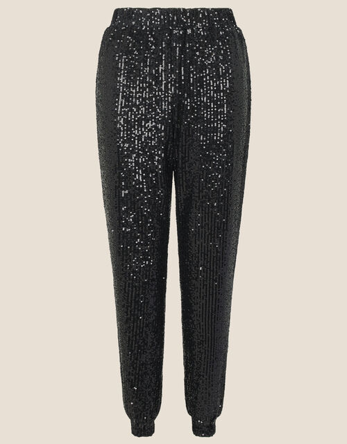 Sonya Sequin Joggers, Black (BLACK), large