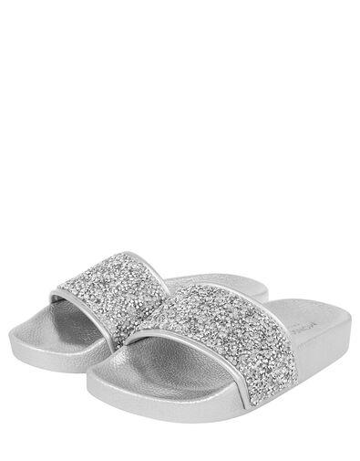 Dazzle Sliders Silver, Silver (SILVER), large