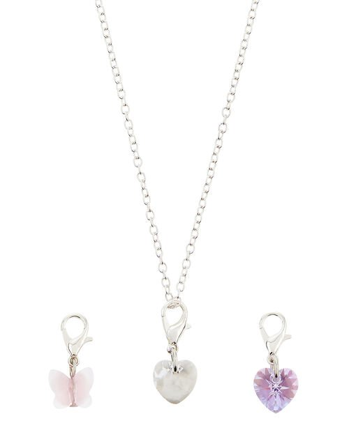 Changeable Necklace Gift Set with Swarovski® Crystals, , large