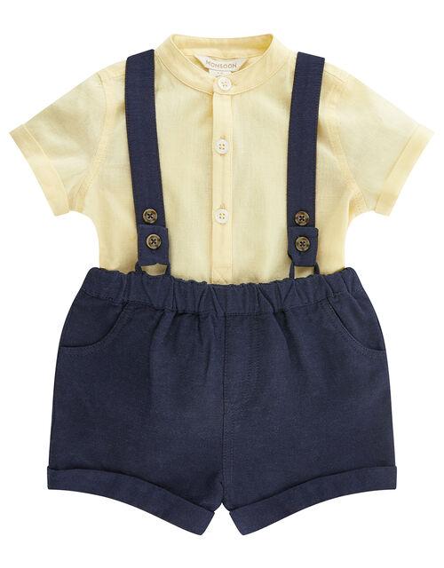 Newborn Baby Louis Set, Yellow (LEMON), large