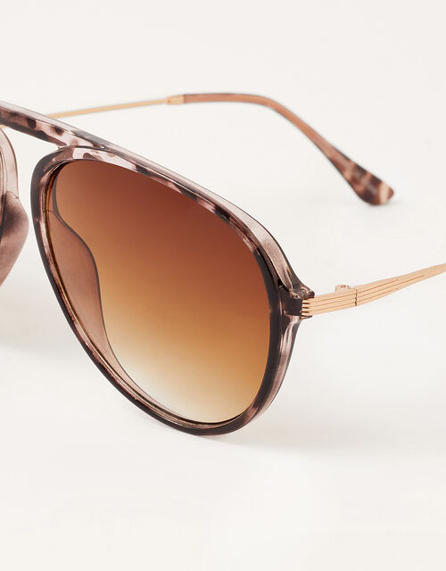 Tessa Tort Aviator Sunglasses, , large