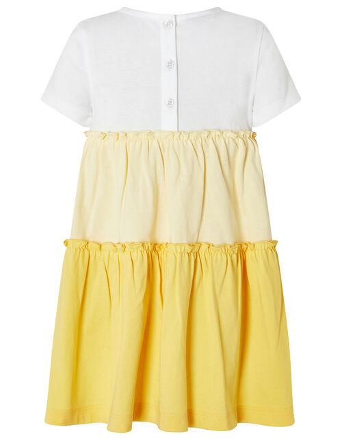Baby Maisy Pineapple Jersey Dress, Yellow (YELLOW), large