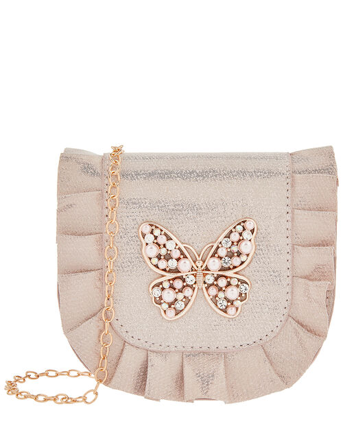 Venita Pearl and Sparkle Butterfly Bag, , large