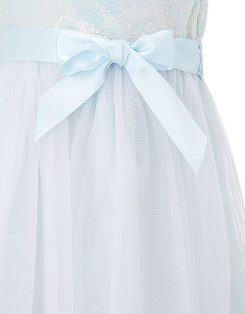 Baby Sequin Dress, Blue (PALE BLUE), large