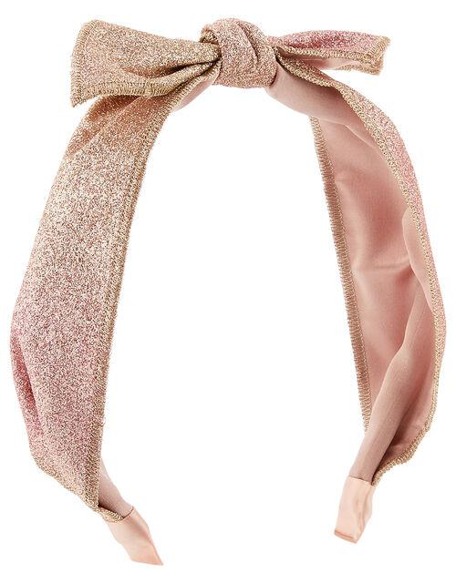 Ombre Glitter Knot Headband, , large