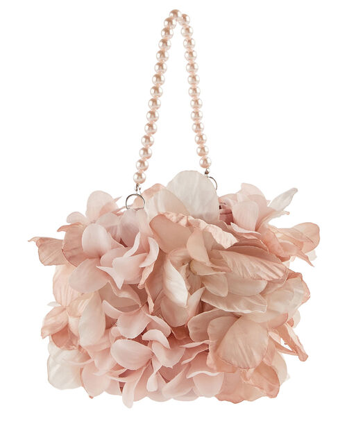 Pearl Garden Flower Pouch Bag, , large