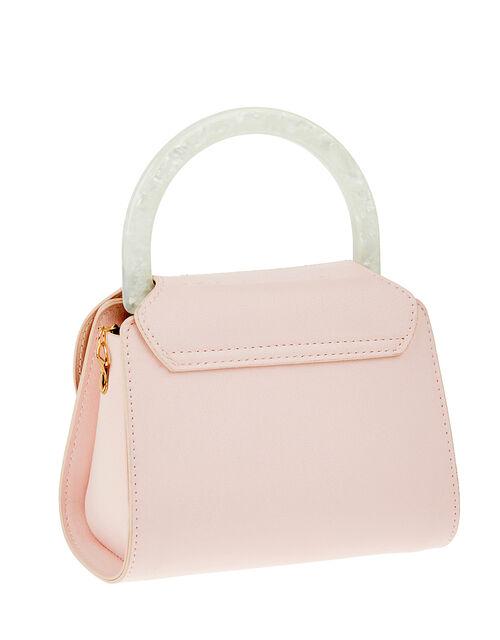 Pearly Handle Mini Bag, , large