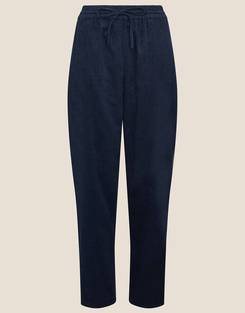 Cord Joggers, Blue (NAVY), large