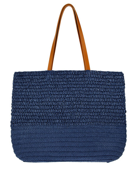 Kaz Straw Beach Bag, , large
