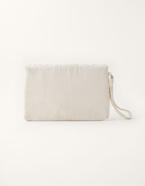 Embellished Envelope Bridal Clutch Bag, , large