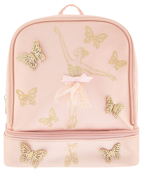Butterfly Ballerina Backpack, , large