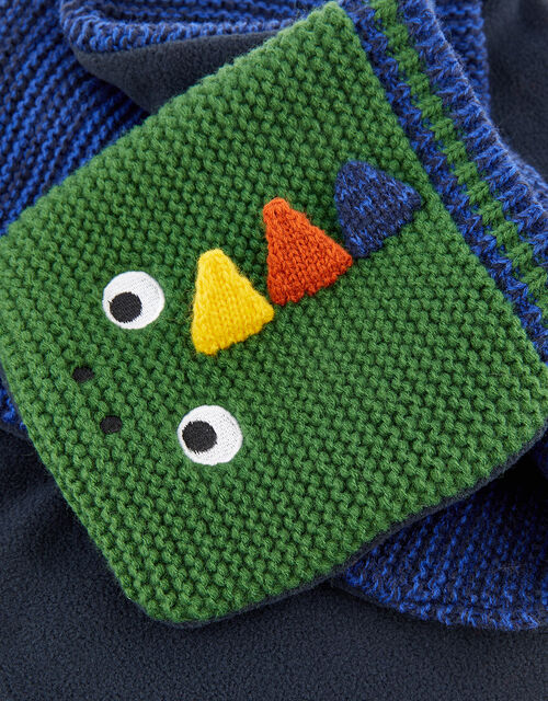 Dino Stewie Spikes Knit Scarf, , large
