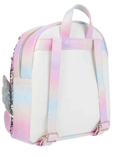 Whispie Wings Sequin Unicorn Backpack, , large