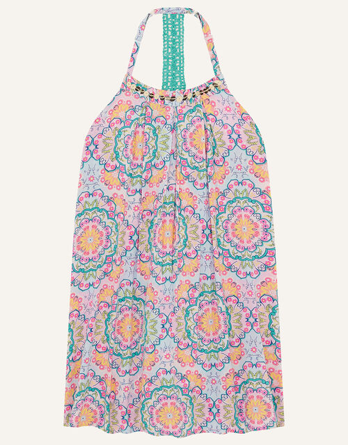 Clarissa Mandala Print Dress, Purple (LILAC), large