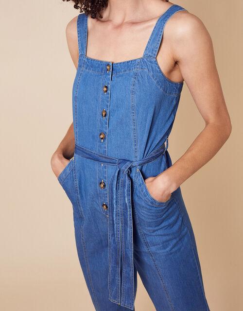 Denim Jumpsuit, Blue (DENIM BLUE), large