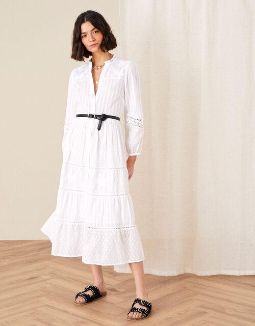 Phillipa Embroidered Lace Maxi Dress, Ivory (IVORY), large