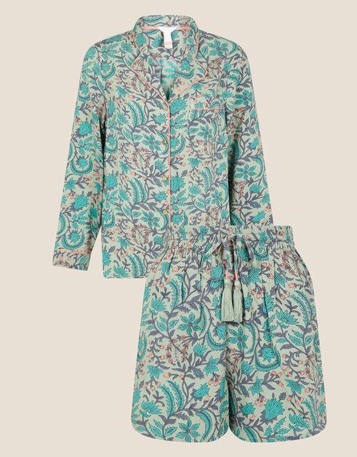ARTISAN STUDIO Pyjama Set, Green (GREEN), large