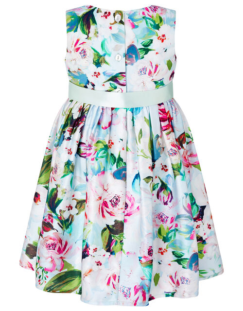Baby Heidi Floral Dress in Recycled Fabric, Multi (MULTI), large