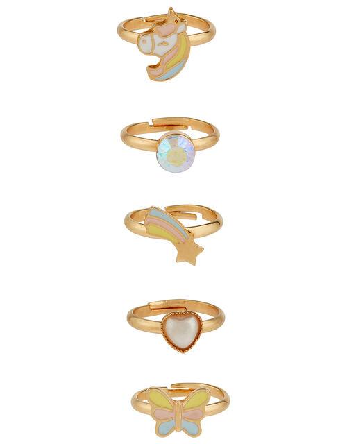 Stardust Unicorn Ring Set, , large