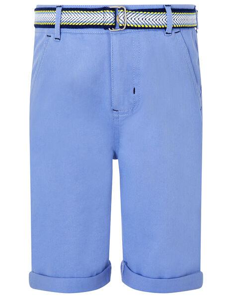Blake Blue Shorts and Belt Set Blue, Blue (BLUE), large