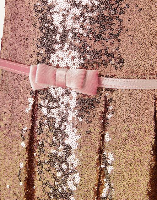 Sparkle Sequin Dress , Gold (ROSE GOLD), large