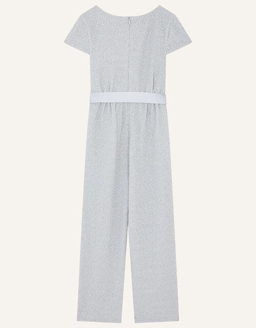 Shimmer Jersey Jumpsuit, Blue (PALE BLUE), large