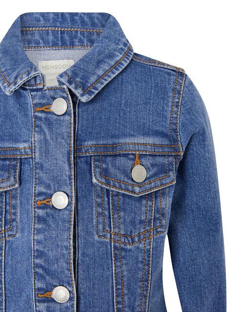 Denim Jacket, Blue (BLUE), large