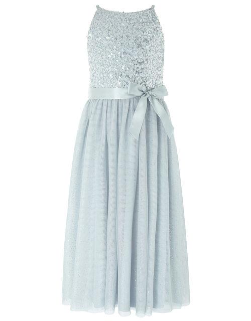 Truth Sequin Sparkle Maxi Dress, Grey (GREY), large