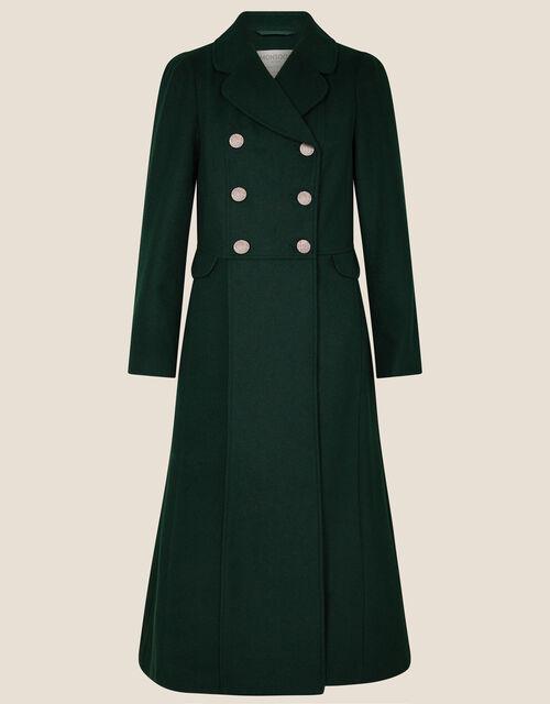 Samantha Skirted Coat, Green (GREEN), large