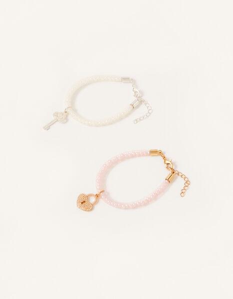 Pearl Keepsake Encased Bracelet Twinset, , large