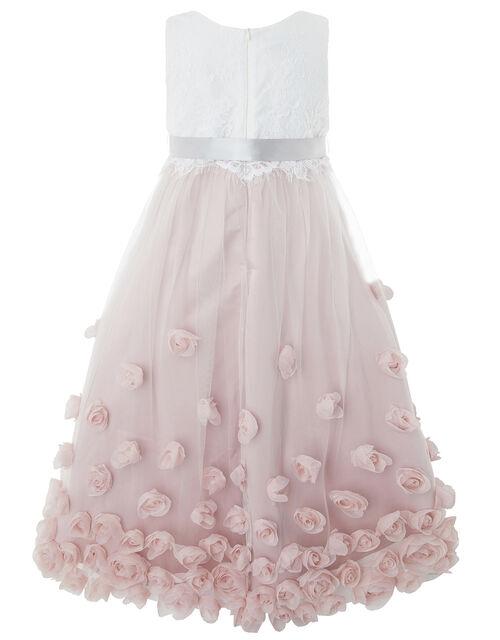 Ianthe Floral Occasion Dress, Pink (DUSKY PINK), large