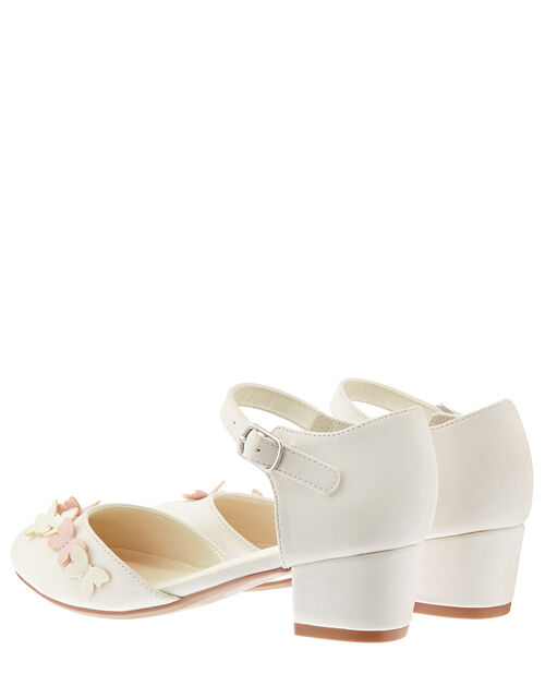 Lilly Butterfly Two-Part Shoes, Ivory (IVORY), large