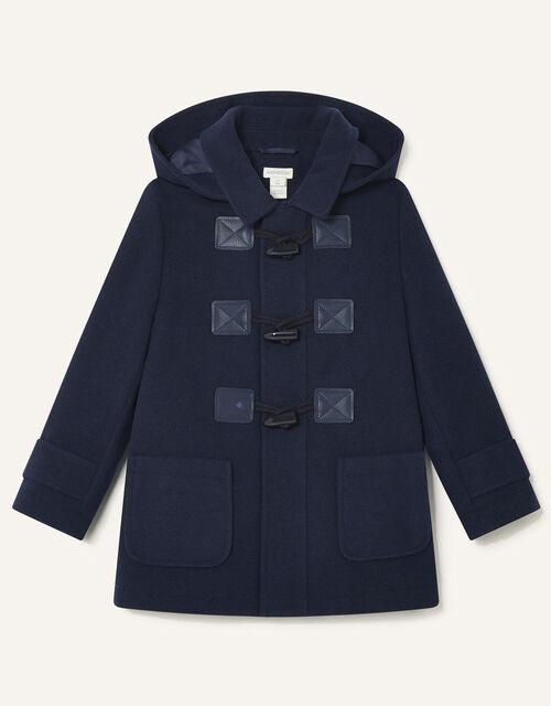 Duffle Coat , Blue (NAVY), large