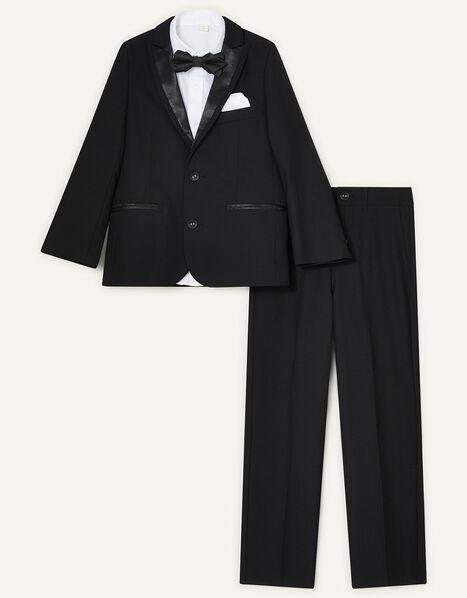 Benjamin Tuxedo Suit Set Black, Black (BLACK), large