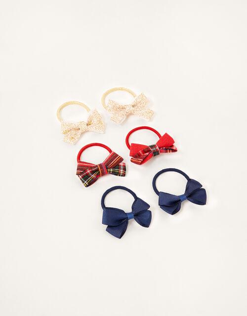 School Bow Hair Band Set, , large