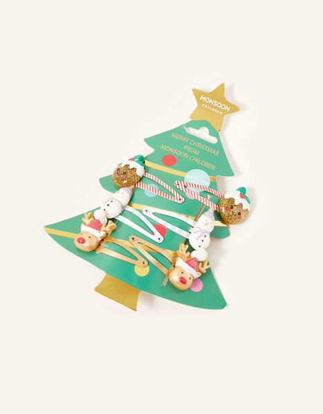Christmas Fun Hair Clip Set, , large