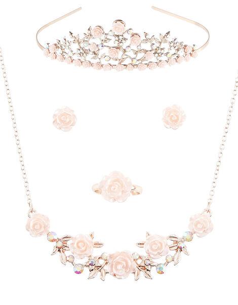 Diane Diamante Tiara and Jewellery Set , , large