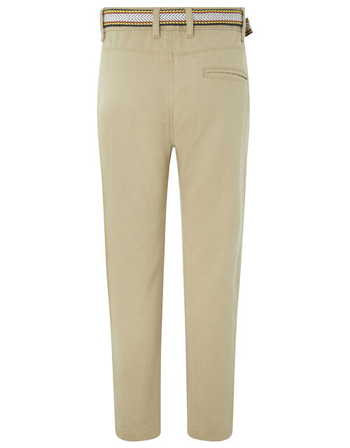 Stone Belted Chino Trouser, Natural (STONE), large