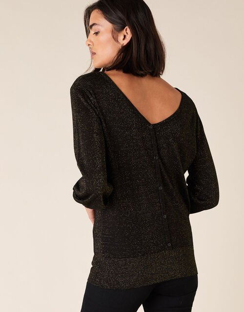 Sparkle Jumper with Sustainable Viscose, Copper (COPPER), large