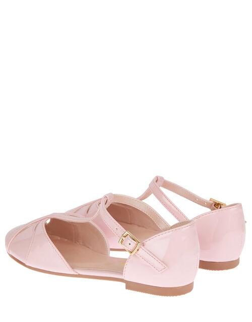 Patent Ballerina Flats, Pink (PINK), large