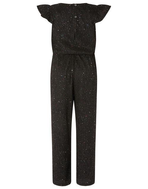 Sparkle Jumpsuit, Black (BLACK), large