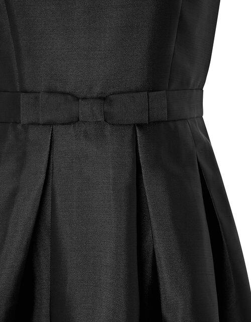 Connie  One-Shoulder Occasion Dress, Black (BLACK), large