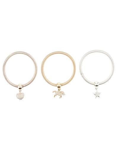 Diamante Spring Charm Bracelet Set , , large