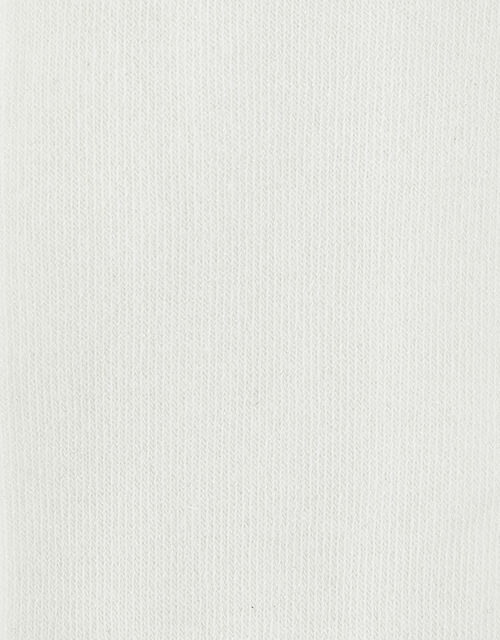 Baby Frosted Sparkle Tights, Ivory (IVORY), large