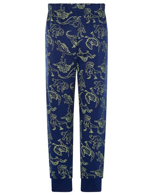 Dinosaur Pyjama Set, Grey (GREY), large